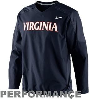 NIKE Virginia Cavaliers Dri-Fit Navy Pullover Wind Jacket (Small)