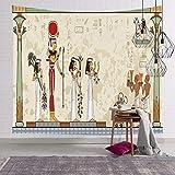 Ägyptischen Stil Bunte Tapisserie Wandbehang Mandala Pharao Tagesdecke Werfen Hippie Abdeckung Kunst Hintergr& Wanddekoration A7 130x150cm