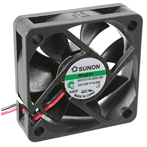 Preisvergleich Produktbild kessler-electronic HA50151V4-1000U-A99 SUNON-Lüfter 50x50x15mm 12V= 13, 07m³ / h 15, 4dBA 3200U / min +DATENBLATT als QR-Code