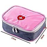 LoKauf 13 * 10 * 4cm Tragbar Wasserdicht Medizintasche Sanitätstasche Reiseapotheke Tasche Erste Hilfe Set - 2