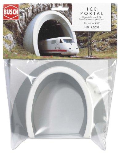Busch 7020 - Ice-Tunnelportal, 1-gleisig HO