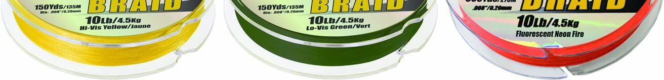 30 Lb. Low-Vis Green 663-230G Sufix Performance Braid Fishing Line 1200 Yds