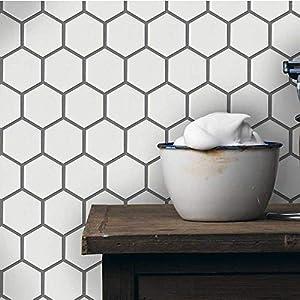 "1 Carton/20 SQFT | 2"" Hexagon Mosaic Tile - White (Matte)"