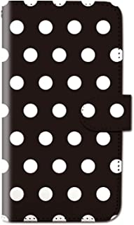CANCER by CREE 手帳型 ケース FREETEL SAMURAI MIYABI ドット柄 水玉 ふろしき まる スマホ カバー dy001-00017-06 FREETEL miyabi(雅):M