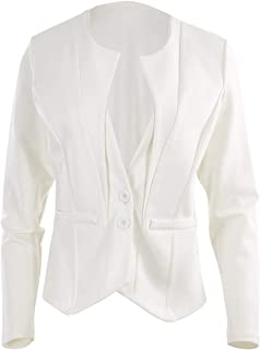 Bird by Design Womens Jackets The Define Ponte Jacket Ivory - Coats