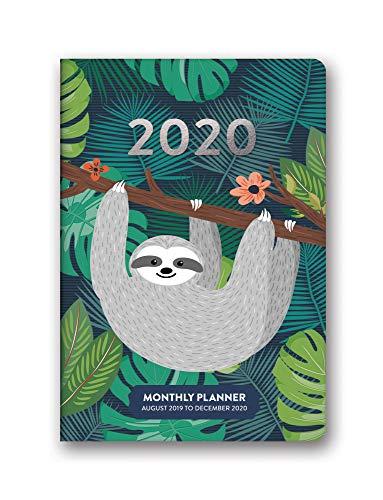 Orange Circle Studio 2020 Monthly Pocket Planner, Jungle Life
