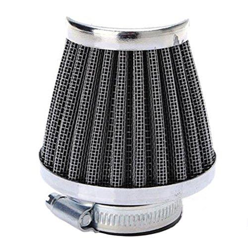 VOSAREA Motorrad Luftfilter Sportluftfilter Universal für Auto Mofa Roller Vergaser (35mm)
