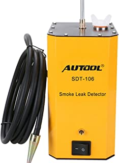 AUTOOL SDT 106 Automotive Detectors, Vehicles Smoke Machine, Fuel Leak Locator Universal for Motorcycle/Car/Truck, SDT-106 12V