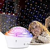 Litake Starry Night Light Projector, Star Projector for Bedroom with 4 Lighting Modes, Timer Setting, Dimmable, Nursery Star Night Light for Ceiling, Nice Gift for Kids, Baby, Children 2500 lumen projectors May, 2021