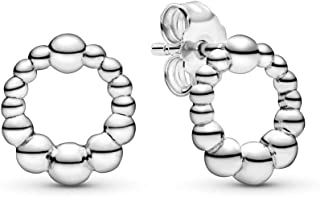 Pandora Pendientes de botón Plata ley 925 sin - 298683C00