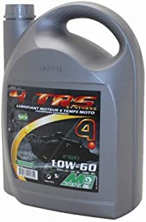 MINERVA OIL HUILE MOTEUR 4 TEMPS MINERVA MOTO 4TRS 10W60 (5L) (SYNTHESE POUR COMPETITION - 100% MADE IN FRANCE)