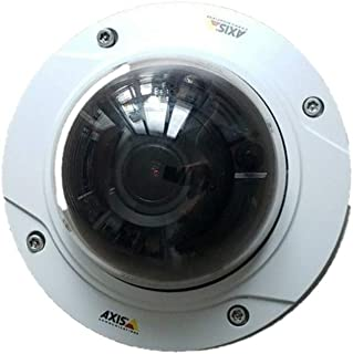 AXIS 01061-001 Outdoor Dome Network Surveillance Camera, 5.6 W, 48 V, White
