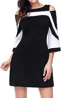 a3992b3b989 Amazon.fr   robe noir et blanche