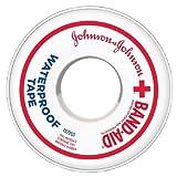 Band-Aid Waterproof Tape, 1/2 Inch