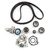ECCPP Timing Belt Kit Including Timing Belt Water Pump with Gasket tensioner Bearing fits for 2004 2005 2006 2007 2008 2009 2010 2011 Subaru Forester/2005 Saab 9-2X/2004 2005 2006 Subaru Baja
