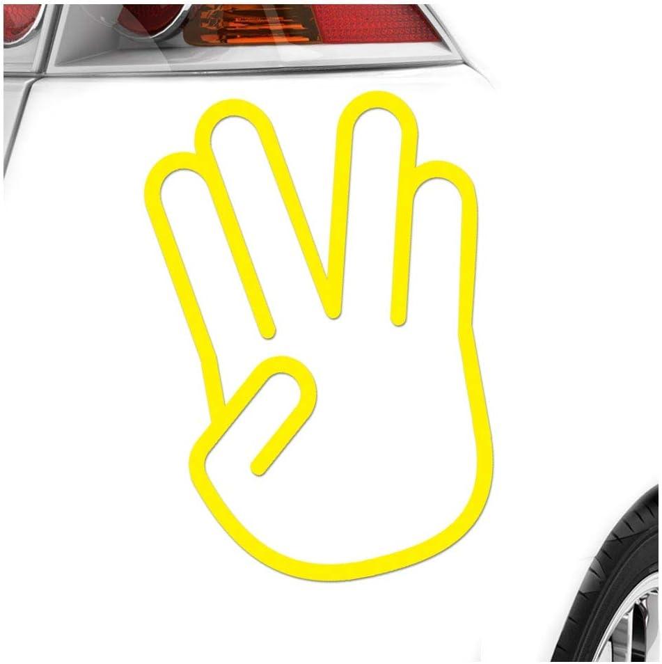 Kiwistar Vulkanischer Gruß 15 X 10 Cm In 15 Farben Neon Chrom Sticker Aufkleber Auto