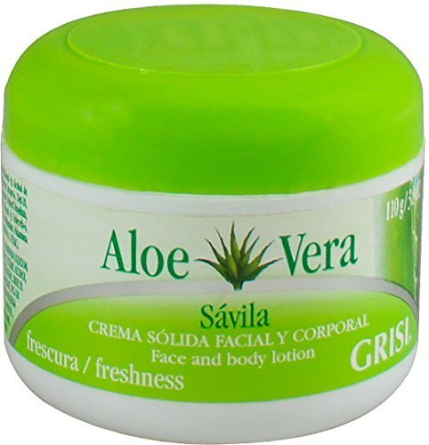 Grisi Aloe Vera Moisturizing Beauty Cream, 3.8 oz (Pack of 8) by Grisi