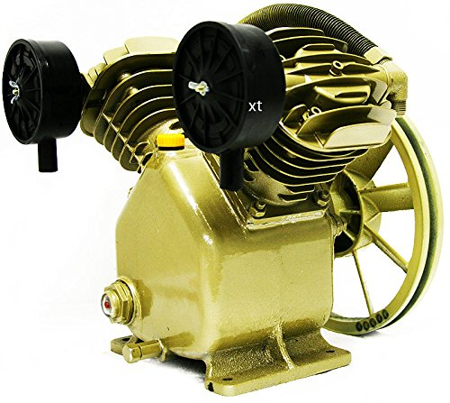 Eight24hours 5HP 17.5 CFM 145 PSI Dual Cylinder HD Air Compressor Pump Automotive Business