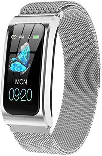 Pulsera Inteligente Pantalla a Color Ip68 Reloj Impermeable para Mujer Monitor de presión Arterial Monitor de Actividad del Ciclo Menstrual para Android iOS-mi