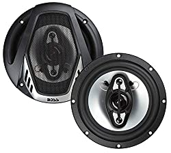 "Top 10 Best Car Speakers Review - BOSS AUDIO NX654 Onyx 6.5"" 4-way 400-watt Full Range Speakers"