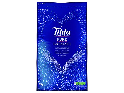 Tilda Basmati Rice 20 Kg