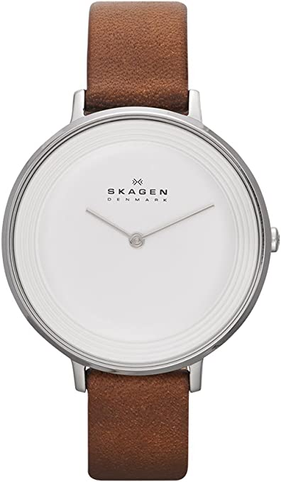 Skagen Women's SKW2214 Ditte Saddle Leather Watch