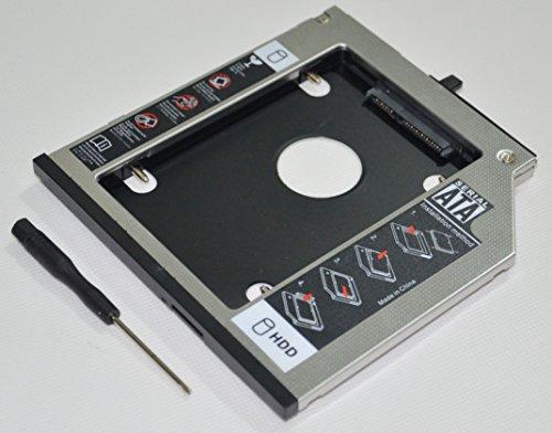 DEYOUNG 2ND zweite HDD SSD Caddy Festplattenrahmen für Lenovo ThinkPad T400 T400s T500 T410 T410s T410i T410si T420s T420si T430s T430si W500 X200 X201 X220 UltraBase ersetzt DVD Laufwerk