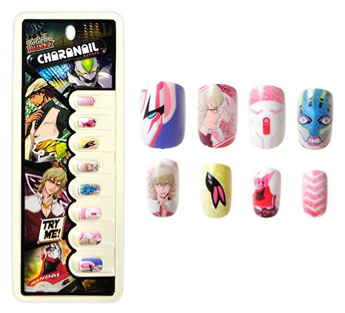 Character nail TIGER & BUNNY B Barnaby Brooks Jr (japan import)