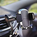 Bestrix Car Phone Mount Holder -SmartClamp Air Vent Cell Phone Car Holder Compatible with iPhone 12 11 Pro Xr Xs XS MAX XR X Galaxy S20 Note 20 Ultra & All Smartphones