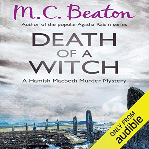 Death of a Witch audiobook cover art