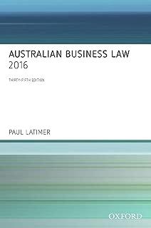Australian Business Law