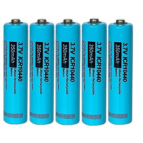 AAA ICR 10440 Li-Ion Wiederaufladbare Batterie 3.7V 350mAh(5pcs)