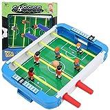 Qqmora Mini Juguete portátil de fútbol de Escritorio para niños Duradero, Juguete de fútbol de Mesa para niños 10.24x10.83x1.97 Pulgadas, para Fiesta de Amigos