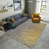 haiba Alfombras modernas para sala de estar, tamaño rectangular, extra grande, pequeño, mediano, suave al tacto, grueso, para sala de estar, no se desprende, 50 x 80 cm