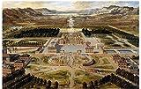 ZYHSB Rompecabezas De Madera 1000 Piezas Réplica del Palacio De Versalles Carteles Juguetes para Niños Y Adultos Juego De Descompresión Re289Ky