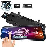 ThiEYE Carview2 Dash Cam Specchietto 10' Touchscreen...