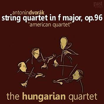 """Dvorák: String Quartet in F Major, Op. 96 """"American quartet"""""""