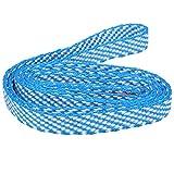 Alomejor Camnal 60 CM Ceinture d'escalade en Plein air Ceintures Haute résistance Alpinisme Corde Plate Sangle de Corde d'escalade(Bleu)