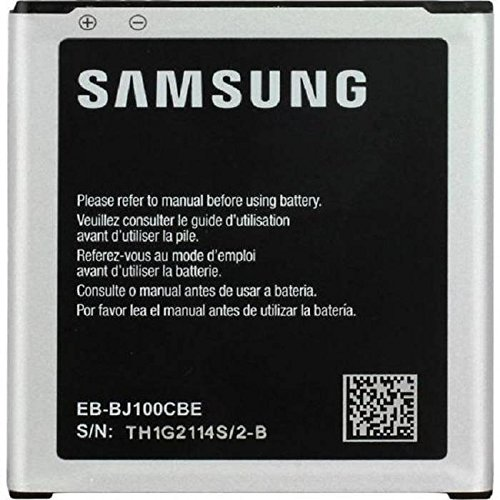 Samsung - Batteria originale OEM da 1850 mAh EB-BJ100CBZ EBBJ100CBZ EB-BJ100CBE EBBJ100CBE per Samsung Galaxy J1 (J100H) (J100F)