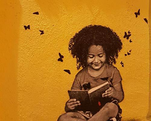Kpoiuy Rompecabezas De Madera 1000 Piezas Graffiti Libro De Lectura para NiñOs Arte Callejero DIY Rompecabezas De Madera Moderno Estilo De DecoracióN del Hogar