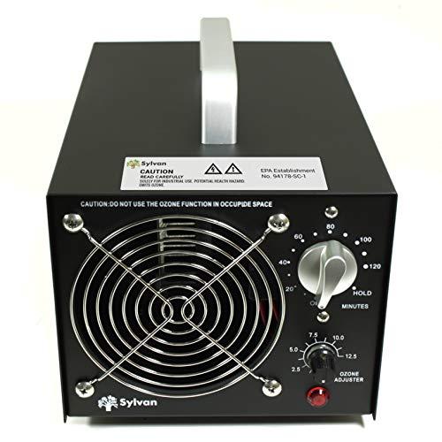 Sylvan Commercial Ozone Generator Machine 12500mg/hr Adjustable Ozone Output