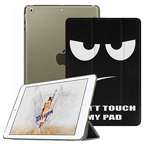 Fintie Hülle für iPad Mini 1 / iPad Mini 2 / iPad Mini 3 - Ultradünne Superleicht Schutzhülle mit transparenter Rückseite Abdeckung Cover mit Auto Schlaf/Wach Funktion, Don't Touch