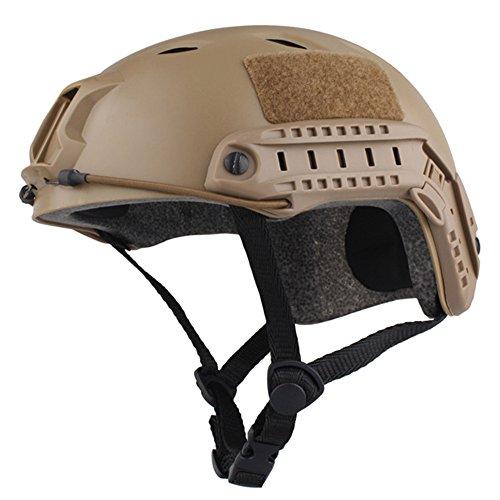 EMERSONGEAR Fast Helmet, BJ Version Tactical Military Combat Helmet DE