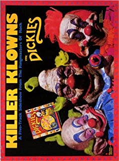 Pop Culture Graphics Killer Klowns from Outer Space Poster Movie B 11x17 Grant Cramer Suzanne Snyder John Allen Nelson