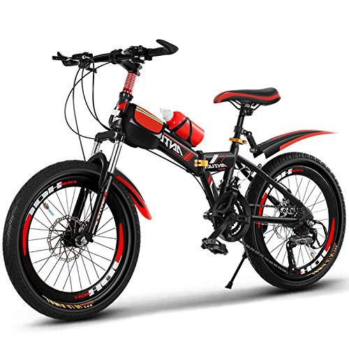 Niños Bike Boys and Girls Bicicletas, Bicicletas de 20 Pulgadas para niños de 9 a 14 años, Bicicletas Bicicletas de montaña Jóvenes Bicicletas.