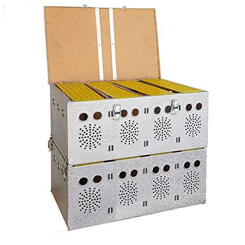 Breker Aluminium Transportkorb 8 Abteilungen - 2