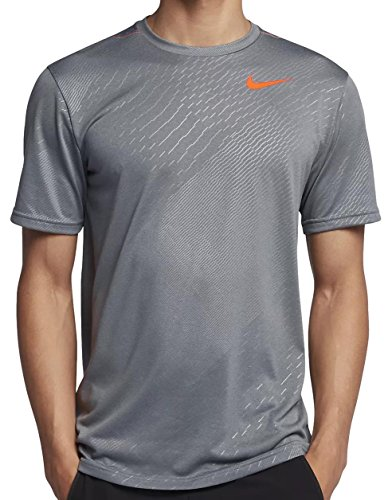 Nike hombre Legend con relieve camiseta de manga corta -  Multi color -  M