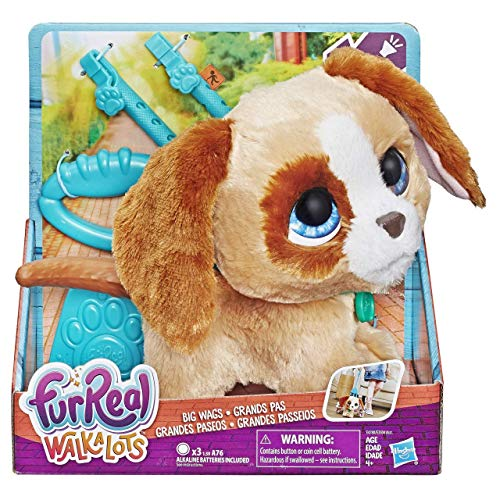 Hasbro- Perro FURREAL WALKALOTS Toddlers 22 CM, (E3504EU4)