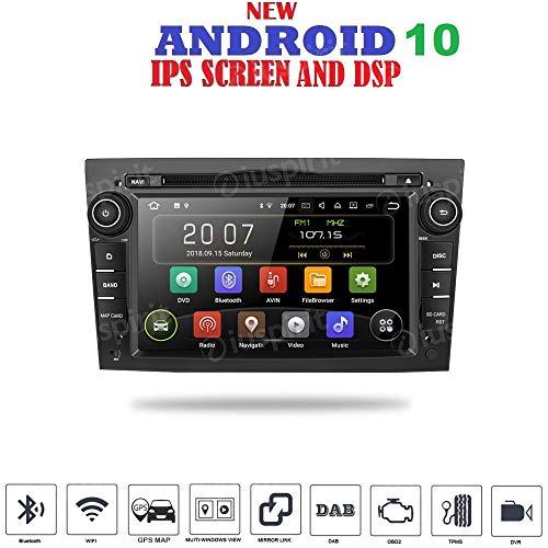 Android 10 GPS DVD USB SD WI-FI Bluetooth Autoradio 2 DIN Navi Opel Corsa / Opel Zafira / Opel Meriva / Opel Astra / Opel Antara / Opel Vivaro / Opel Vectra / Opel Tigra / Opel Combo