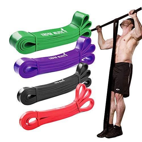 Evershop Resistance Bands Fitnessbänder Set, Premium Pull-Up Widerstandsbänder Set Gymnastikband...